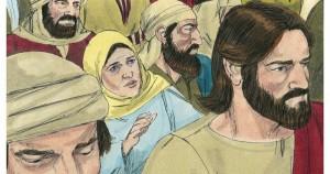 Jesus Heals the Hemorrhaging Woman