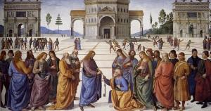 Jesus Giving Keys to Peter
