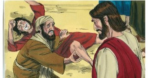 Jesus Healing Demon Possessed Boy