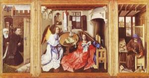 Annunciation - Robert Campin