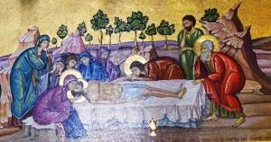 Anointing Jesus' Body