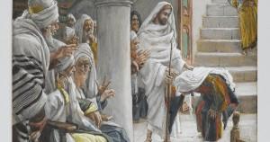 Jesus Heals Infirm Crippled Woman