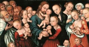 Christ and Children - Lucas Cranach