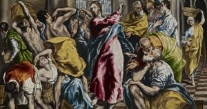 El Greco - Jesus Cleansing the Temple