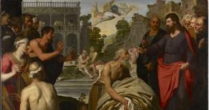 Christ at Pool of Bethesda