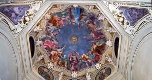 Pentecost ceiling San Marco Milan