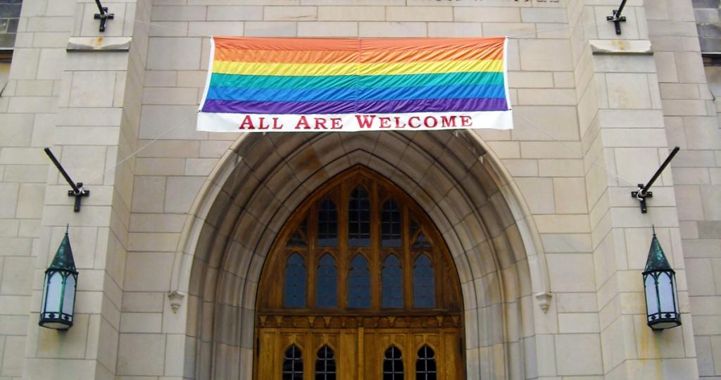 Church Rainbow Flag Cropped