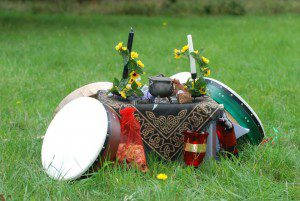 mabon altar rachel patterson