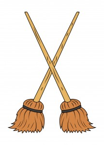 magical vacuum besom sweeping magic rachel patterson