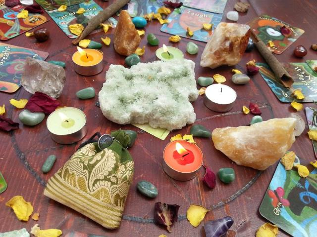 where do you work your magic spell mandala