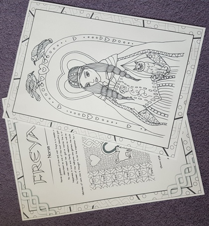 gods and goddesses colouring book rachel patterson