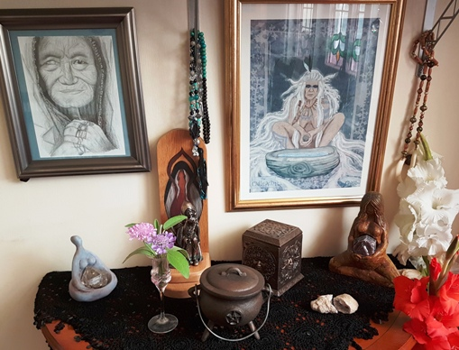 cailleach altar rachel patterson
