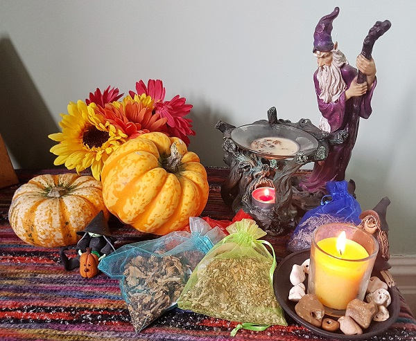 Samhain incense rachel patterson