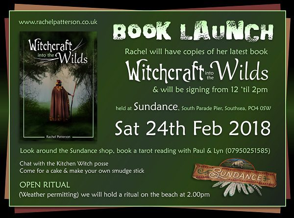 witchcraft into the wilds book launch rachel patterson