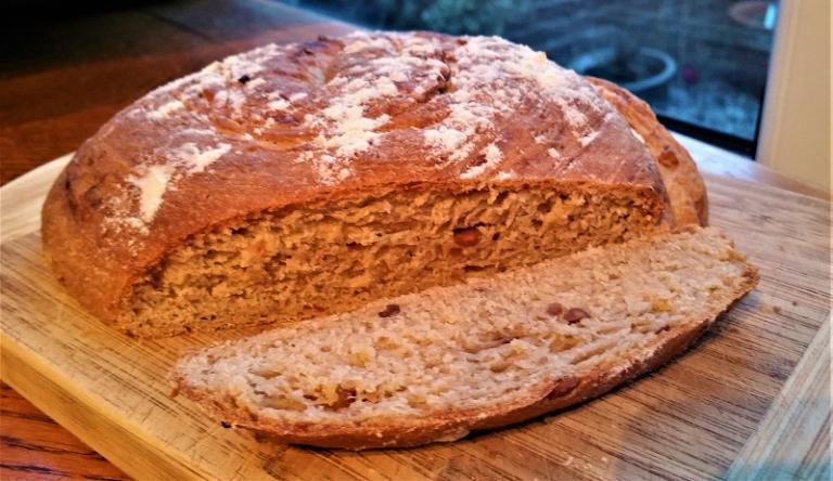 peanut bread, kitchen witch, rachel patterson