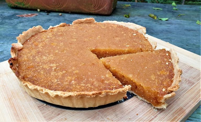 treacle tart, kitchen witch, practically pagan cooking, rachel patterson