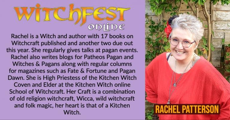 rachel patterson, witchfest online, kitchen witch