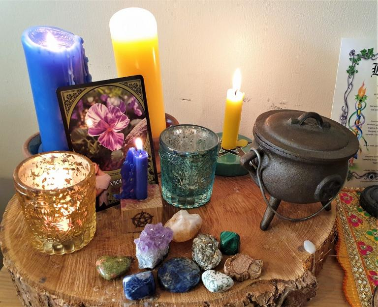 working magic, support, rachel patterson, kitchen witch, flower magic