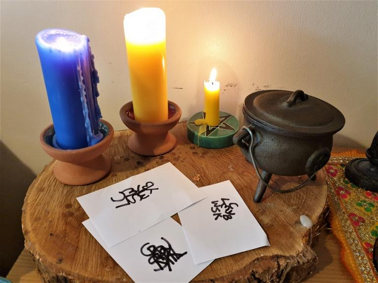 petitions, sigil magic, spells and charms, rachel patterson