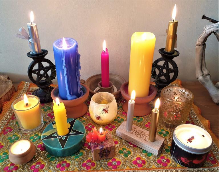 candle magic, rachel patterson, kitchen witch