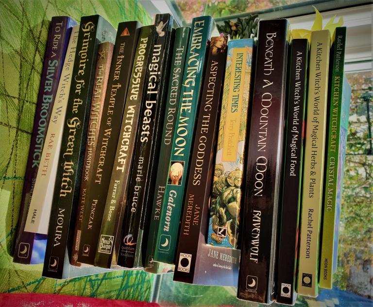 witchcraft books, kitchen witch, rachel patterson