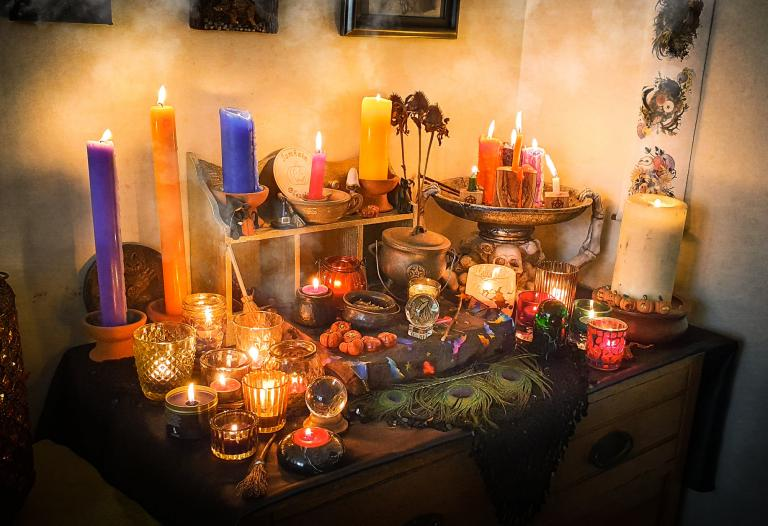 rachel patterson, magical tools, altars, kitchen witch