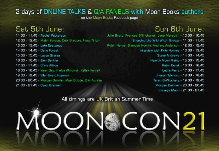 mooncon21, moon books, rachel patterson, kitchen witch