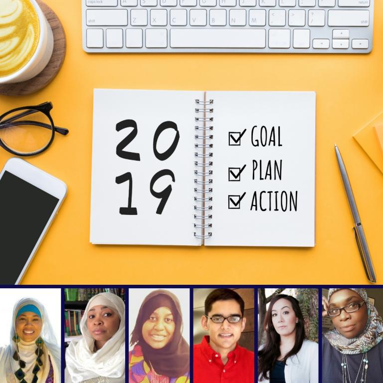 Muslim Writers and Authors 2019 Writing Goals