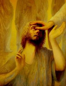 HEALING THE MAN BORN BLIND