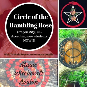 Circle of the Rambling Rose is now accepting new students in Oregon