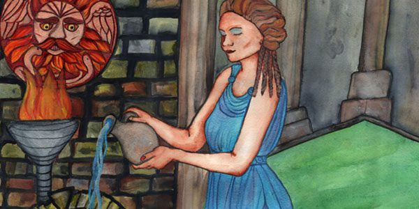 Sulis- Original Art by Annwyn