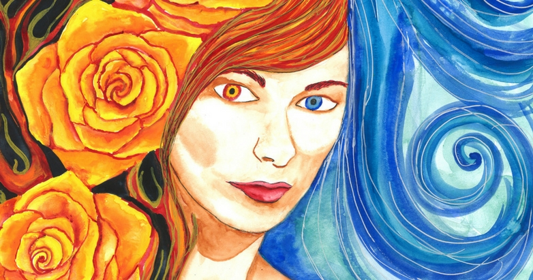 Sulis _ Original Art by Annwyn