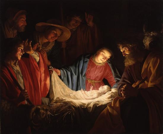 935px-Gerard_van_Honthorst_-_Adoration_of_the_Shepherds_(1622)