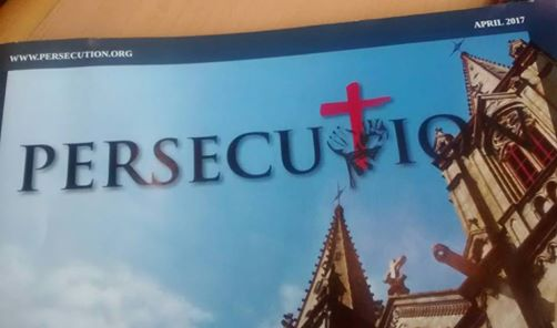 Persecution Monthly Magazine Left At Doctor's Office