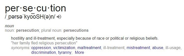 Persecution Definition - Google.com