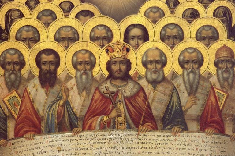 First Nicea Council Icon