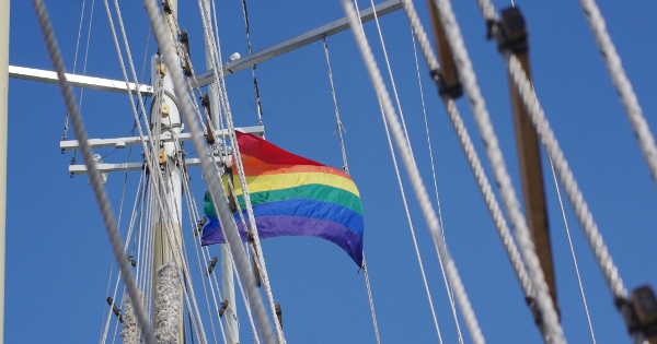 """""""Pride Pirate Ship"""" by Pat Green"""