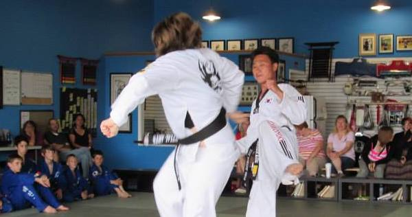 Martial Arts Son Sparring
