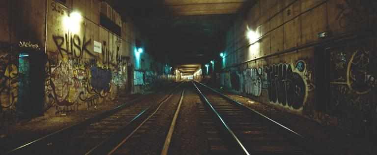 dark tunnel to freedom