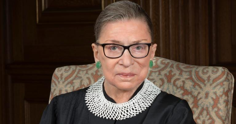 Portrait of justice ginsburg