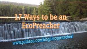 17 ways to be an ecopreacher