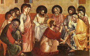 Giotto di Bondone. Washing of Feet. Cappella Scrovegni a Padova. 14th century. www.flikr.com
