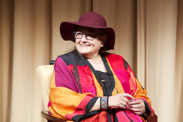 Suzan Shown Harjo, advocate for Native American rights. Photo credit: U.S. National Archives. No copyright restrictions.