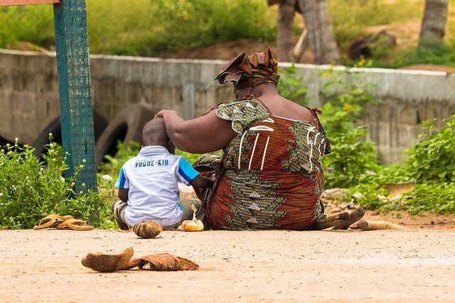 """Maman"" by Denis Carrascosa; https://www.flickr.com/photos/sidcamelot/. Public domain."