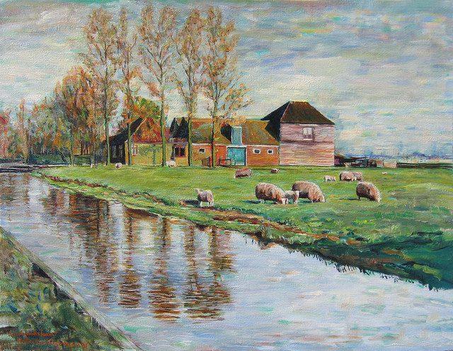 """Hubertine Heijermans, """"Landsmeer."""" Public Domain. flickr.com"""