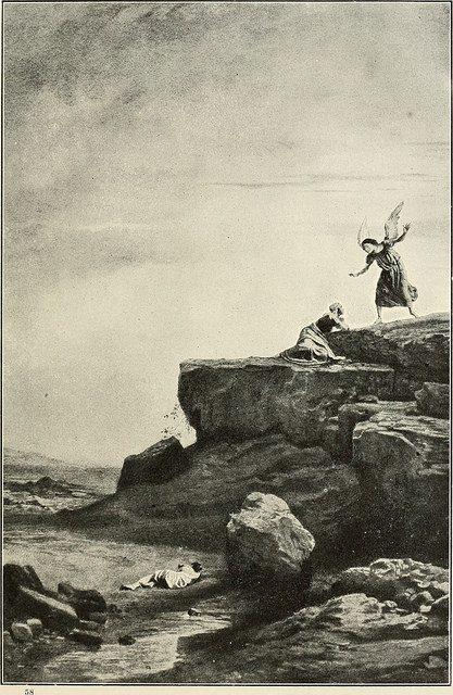 Angel with Hagar and Ishmael