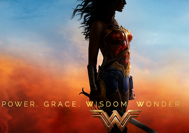 Wonder Woman, power, grace, wisdom, wonder