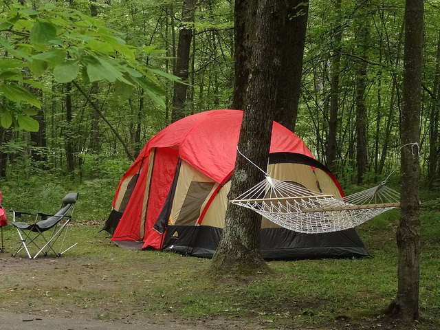 """God Camped Out With Us"""" – Sermon for a Church Camping"""