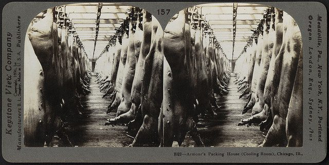 Meat packing house. Photo credit: Boston Public Library. Some rights reserved. flickr.com