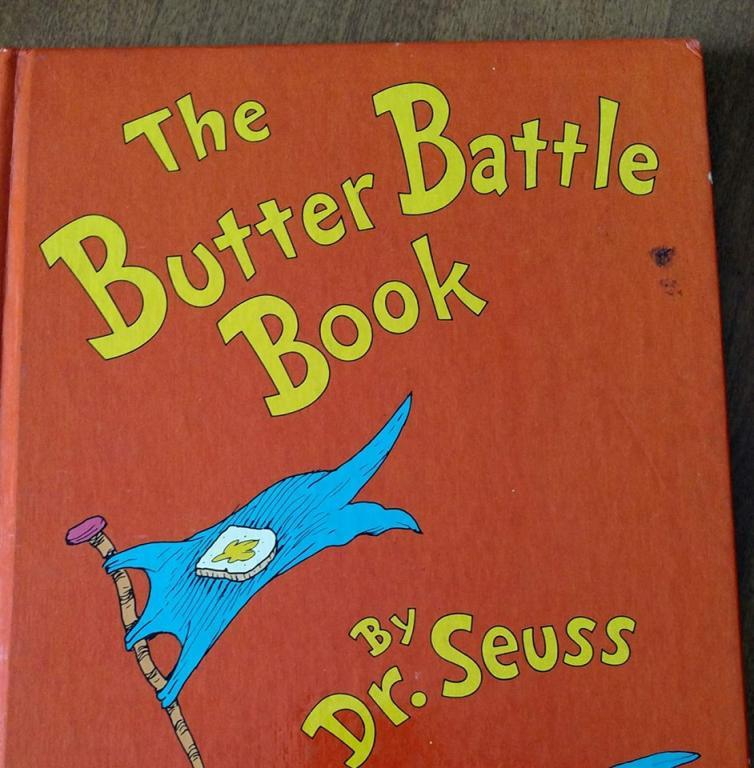 butter battle, cover